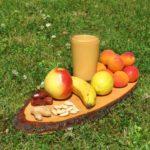 Aprikosen-Smoothie neu - Quadrat